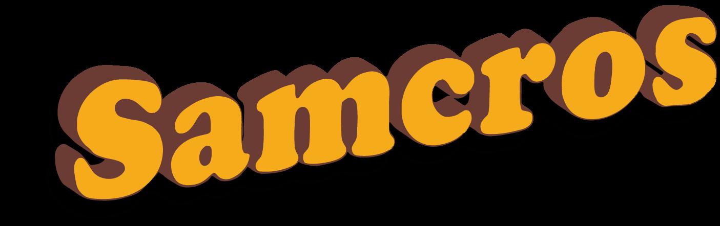 Samcros Logo mit Schatten